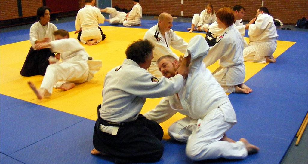 Aikido proefles overweldigend goed verlopen!