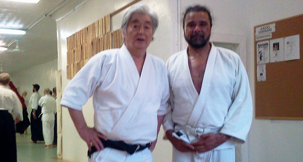 Training bij The New York Aikikai
